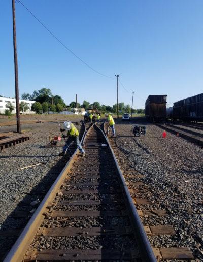 track rehabilitation repair services